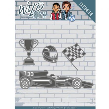 YCD10117 L ~ Wild Boys ~ Racing ~ Yvonne Creations